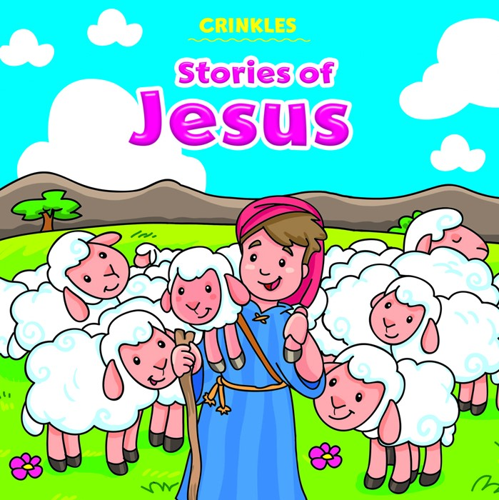 Crinkles: Stories of Jesus (Rag Book)