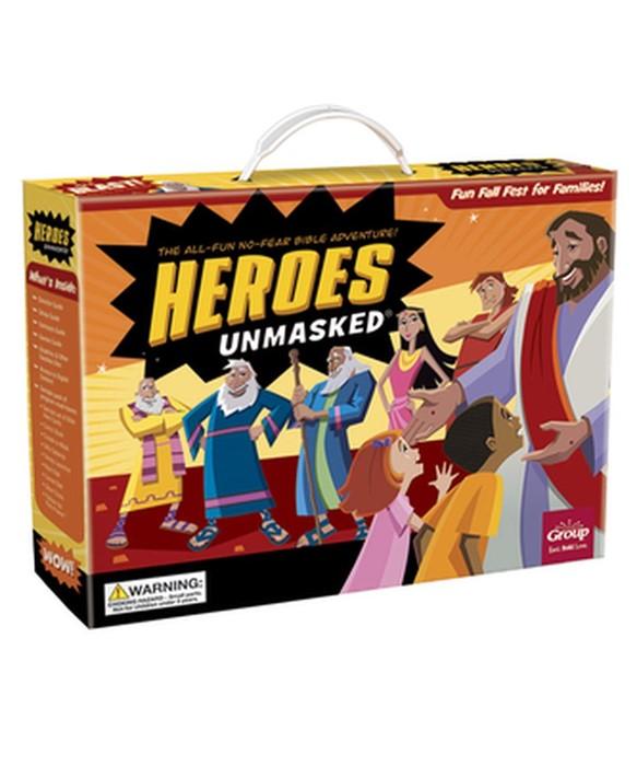 Heroes Unmasked (Kit)