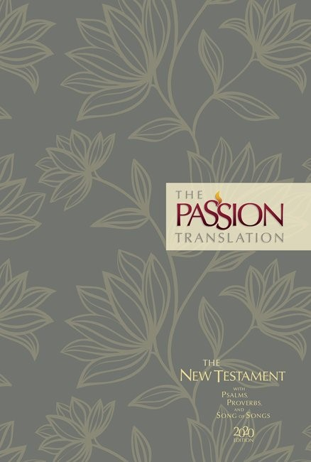 Passion Translation New Testament 2020 Edition, Floral (Hard Cover)