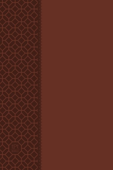 Passion Translation NT 2020 Edition, Brown, Large Print (Imitation Leather)
