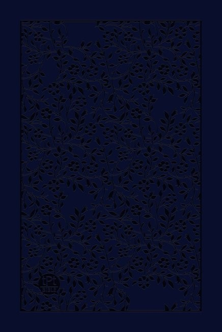 Passion Translation NT 2020 Edition, Navy, Large Print (Imitation Leather)