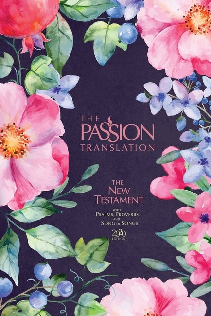 Passion Translation NT 2020 Edition, Berry Blossom (Hard Cover)