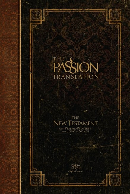 Passion Translation NT 2020 Edition, Espresso (Hard Cover)