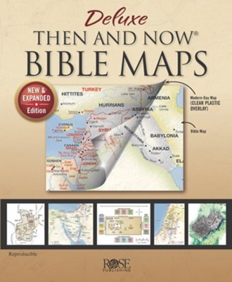 Deluxe Then and Now Bible Maps (Hard Cover)