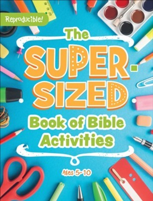 The Super-Sized Book of Bible Activities (Paperback)
