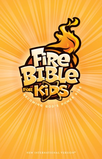 NIV Fire Bible for Kids (Hard Cover)