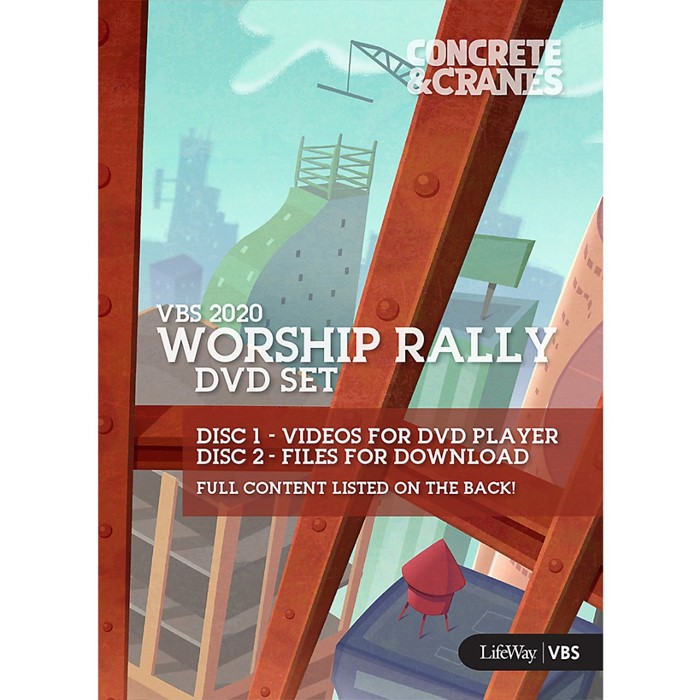 VBS 2020 Worship Rally DVD Set (DVD)