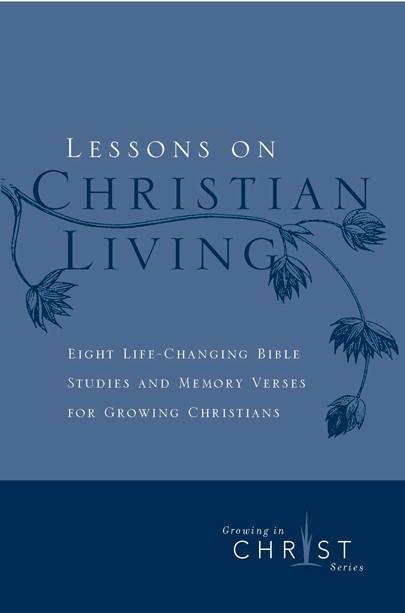 Lessons On Christian Living (Pamphlet)