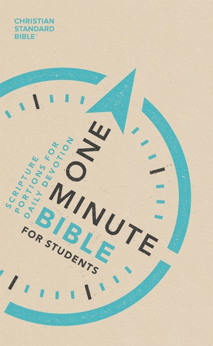 CSB One-Minute Bible for Students (Paperback)