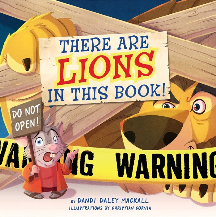 There are Lions in This Book! (Board Book)
