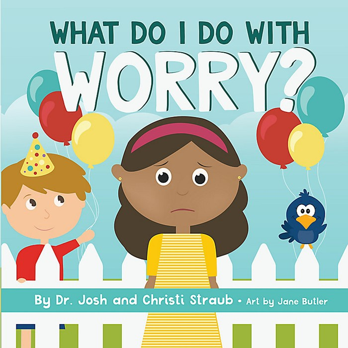 What Do I Do with Worry? (Board Book)