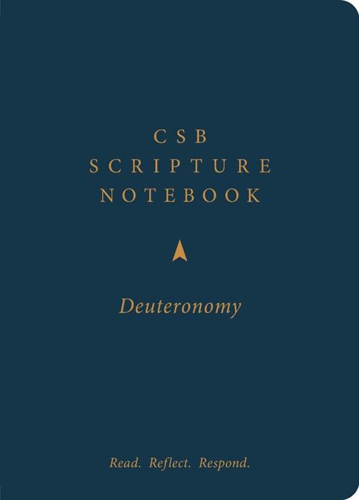CSB Scripture Notebook, Deuteronomy (Paperback)