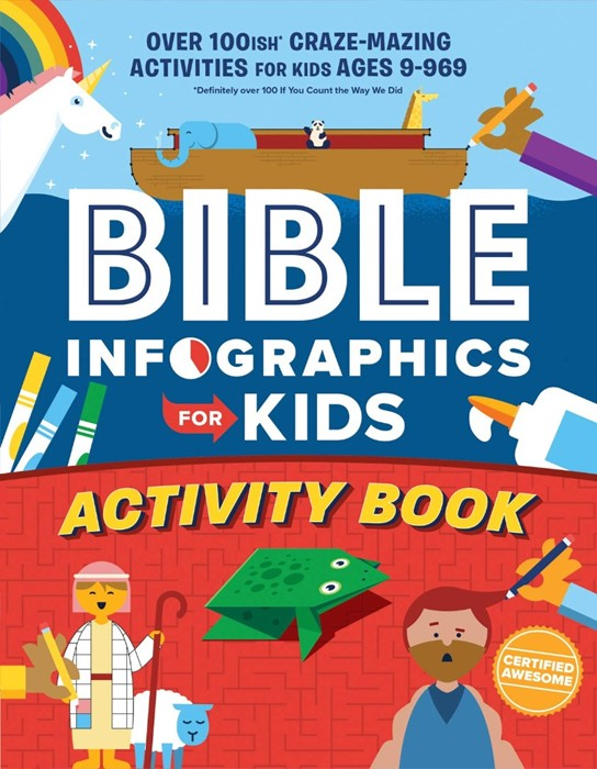Bible Infographics for Kids Activity Book (Paperback)