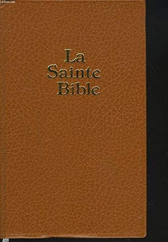 French Bible Darby Edition (La Sainte Bible) (Hard Cover)