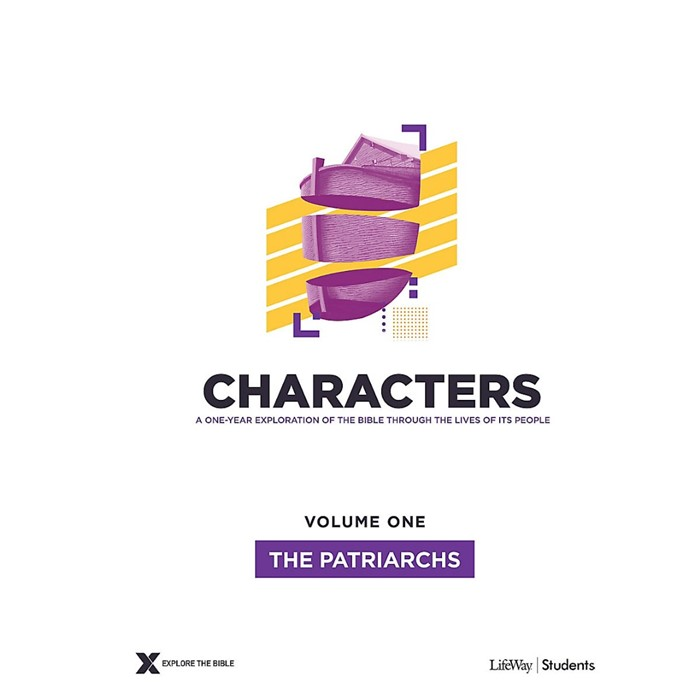 Characters Volume 1: Teen Study Guide (Paperback)