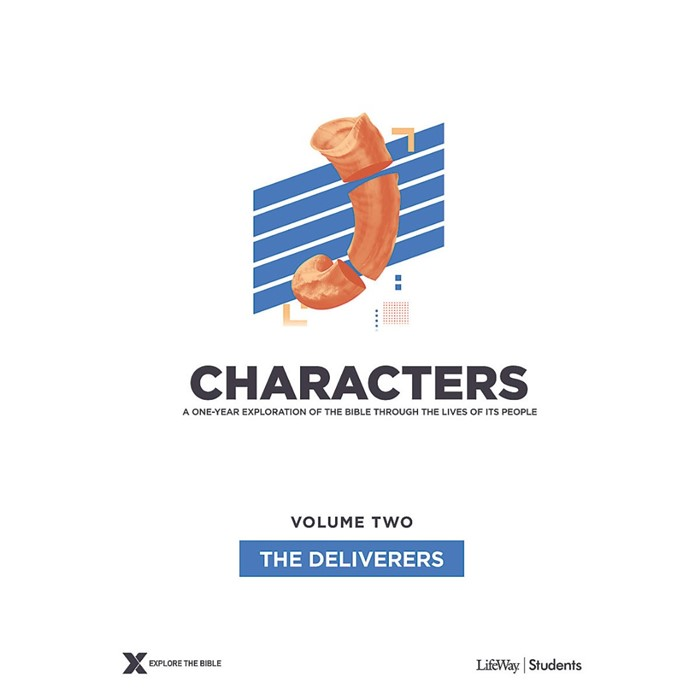Characters Volume 2: Teen Study Guide (Paperback)
