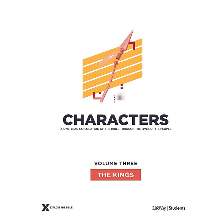 Characters Volume 3: Teen Study Guide (Paperback)