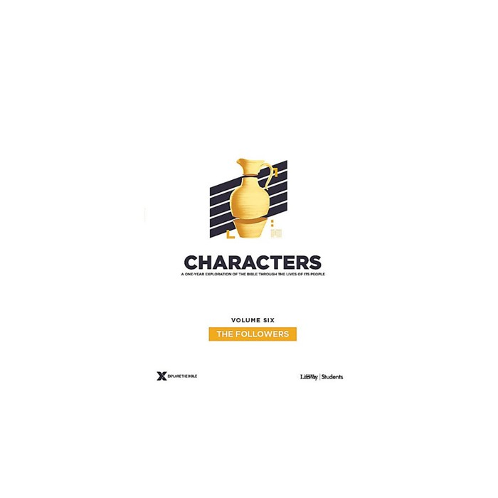 Characters Volume 6: Teen Study Guide (Paperback)