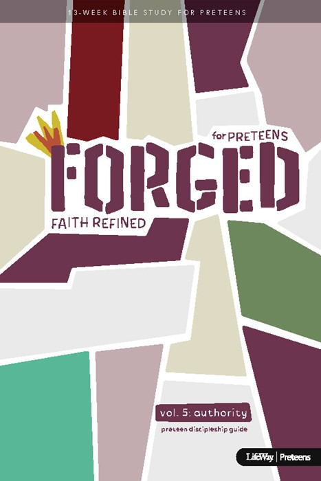 Forged: Faith Refined, Volume 5 Preteen Discipleship Guide (Spiral Bound)