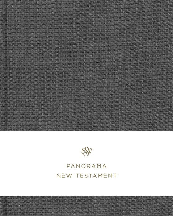 ESV Panorama New Testament, Gray Cloth over Board (Hard Cover)