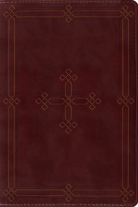 ESV Study Bible, Personal Size, Crimson (Imitation Leather)