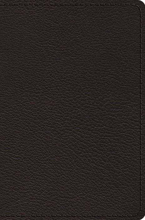 ESV Preaching Bible, Verse-by-Verse Edition, Black Goatskin (Genuine Leather)