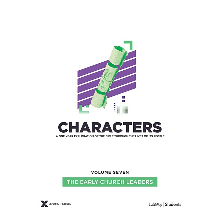 Characters Volume 7: Teen Study Guide (Paperback)