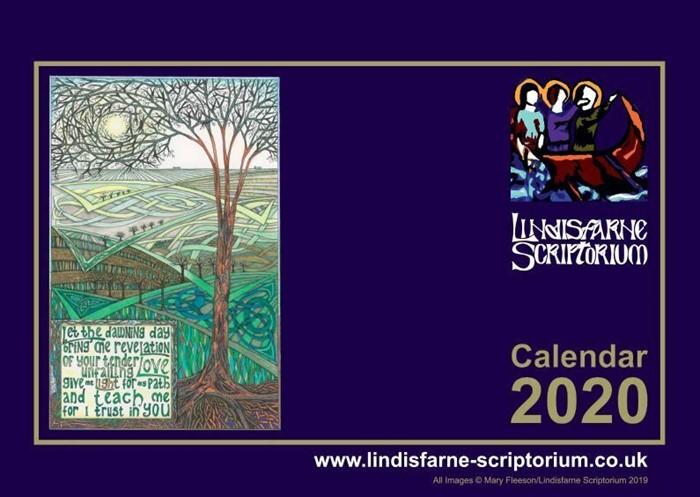 Lindisfarne Scriptorium 2021 Art Calendar (Calendar)