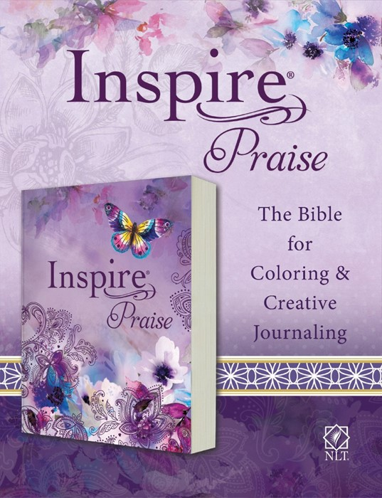 NLT Inspire PRAISE Bible (Softcover) (Paperback)