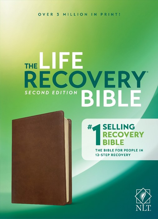 NLT Life Recovery Bible, Second Edition, Rustic Brown (Imitation Leather)