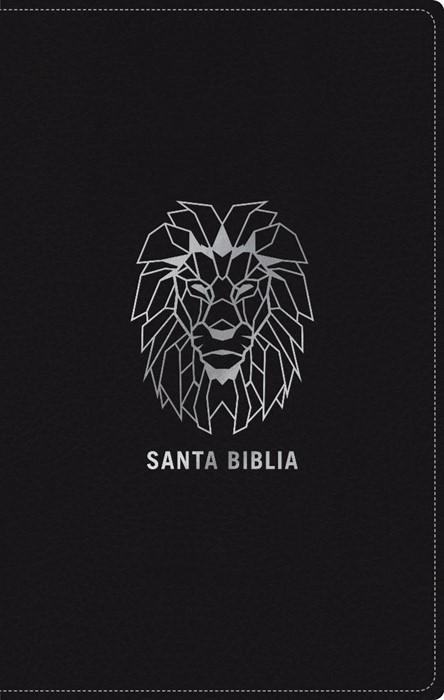 Santa Biblia NTV, Edición zíper, León (SentiPiel, Negro) (Imitation Leather)