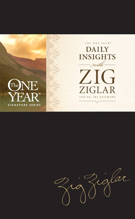 The One Year Daily Insights with Zig Ziglar (Hard Cover)