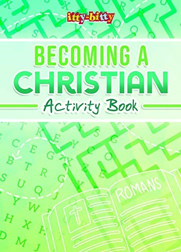 Itty Bitty: Becoming a Christian Activity Book (Paperback)