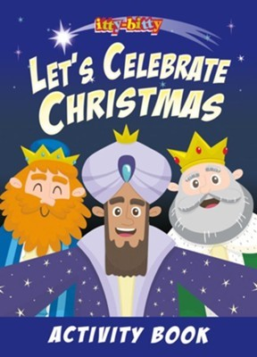 Itty Bitty: Let's Celebrate Christmas (Paperback)