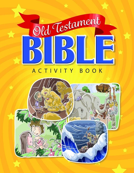 Old Testament Bible Activity Book (Paperback)