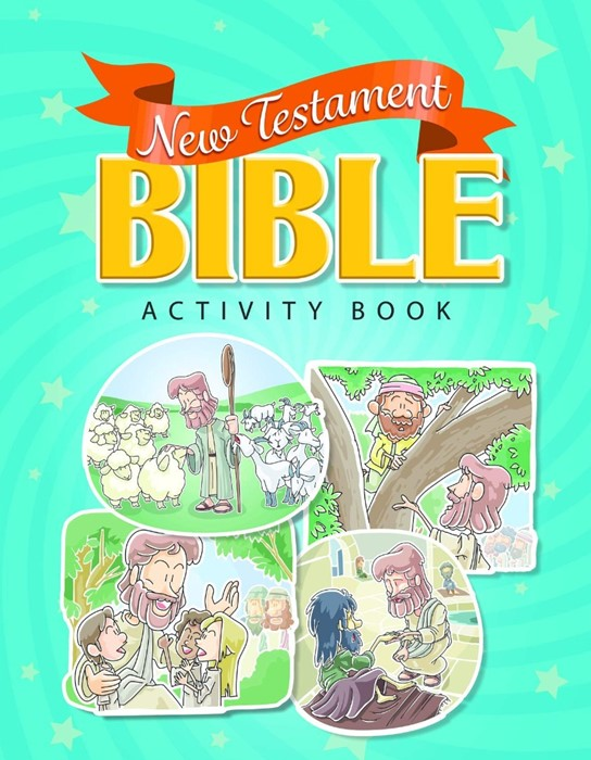 New Testament Bible Activity Book (Paperback)