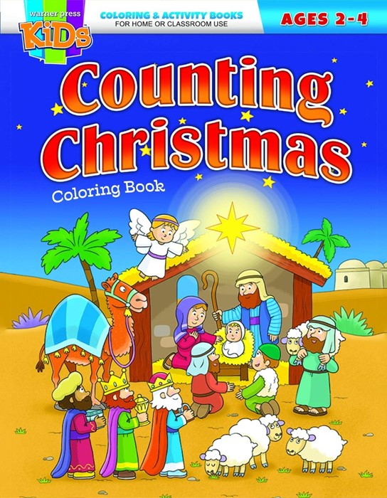 Counting Christmas Coloring Book (Paperback)