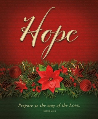 Hope Advent Large Bulletin (pack of 100) (Bulletin)