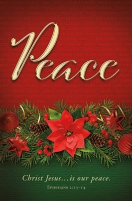Peace Advent Bulletin (pack of 100) (Bulletin)