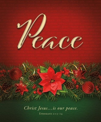 Peace Advent Large Bulletin (pack of 100) (Bulletin)