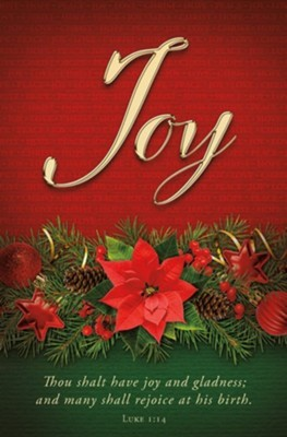 Joy Advent Bulletin (pack of 100) (Bulletin)