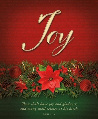 Joy Advent Large Bulletin (pack of 100) (Bulletin)