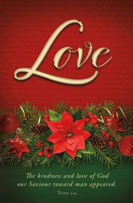 Love Advent Bulletin (pack of 100) (Bulletin)