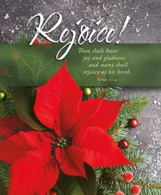 Rejoice! Christmas Large Bulletin (pack of 100) (Bulletin)