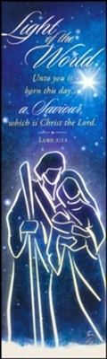 Light of the World Bookmark (pack of 25) (Bookmark)