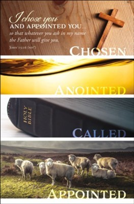 I Chose You and Appointed You Bulletin (pack of 100) (Bulletin)