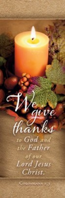 We Give Thanks to God Bookmark (pack of 25) (Bookmark)