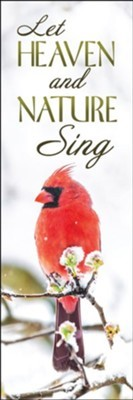 Let Heaven and Nature Sing Bookmark (pack of 25) (Bookmark)