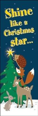 Shine Like a Christmas Star Bookmark (pack of 25) (Bookmark)