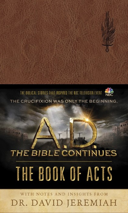 A.D. The Bible Continues: The Book Of Acts (Imitation Leather)
